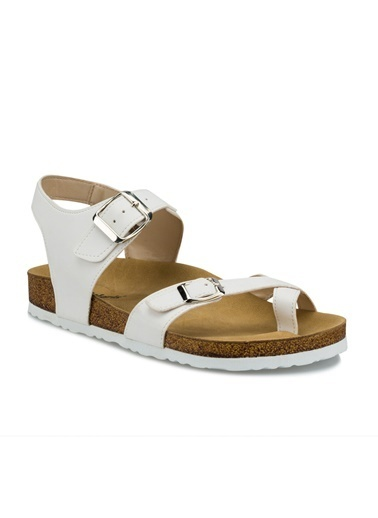 Polaris Sandalet Beyaz